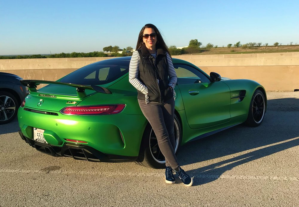 The Mercedes AMG GT supercar is a unique luxury experience, and driving it around the track was a dream.