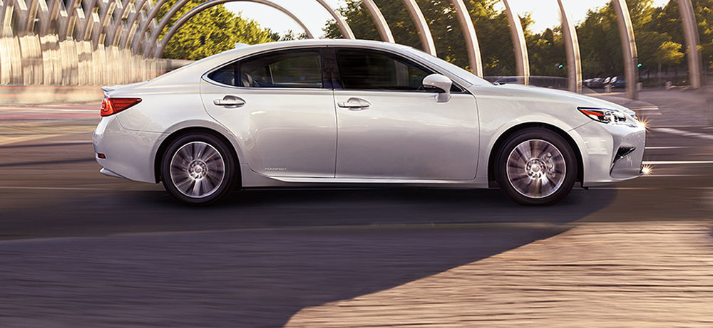 The Lexus ES 300h.  Photo courtesy of Lexus.