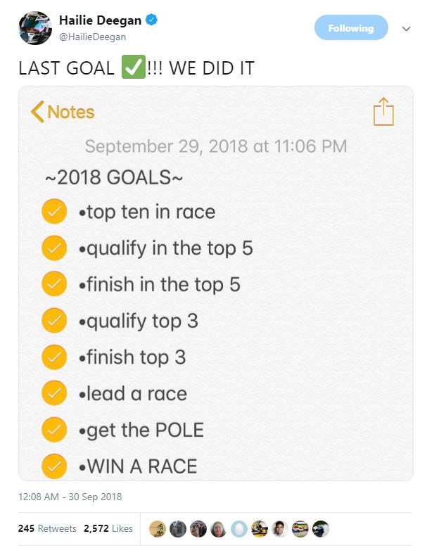 Hailie Deegan goals graphic.png