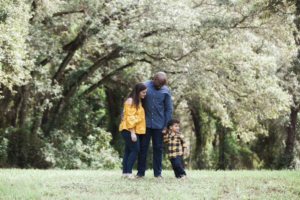 Adoption Family photography in Miami for a newly adopted little boy. We went to a park in Miami Gardens to photograph their special day