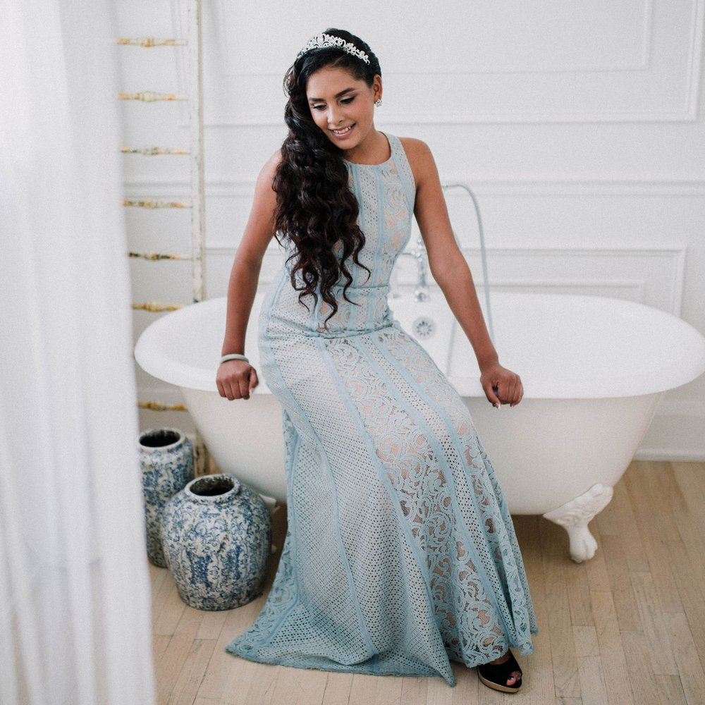 Girls in foster care get an album of their glam photo session after hair and makeup artists make them feel like princesses. Photographers give them a photo shoot and A Sweet Chance gives them albums of their magical day.