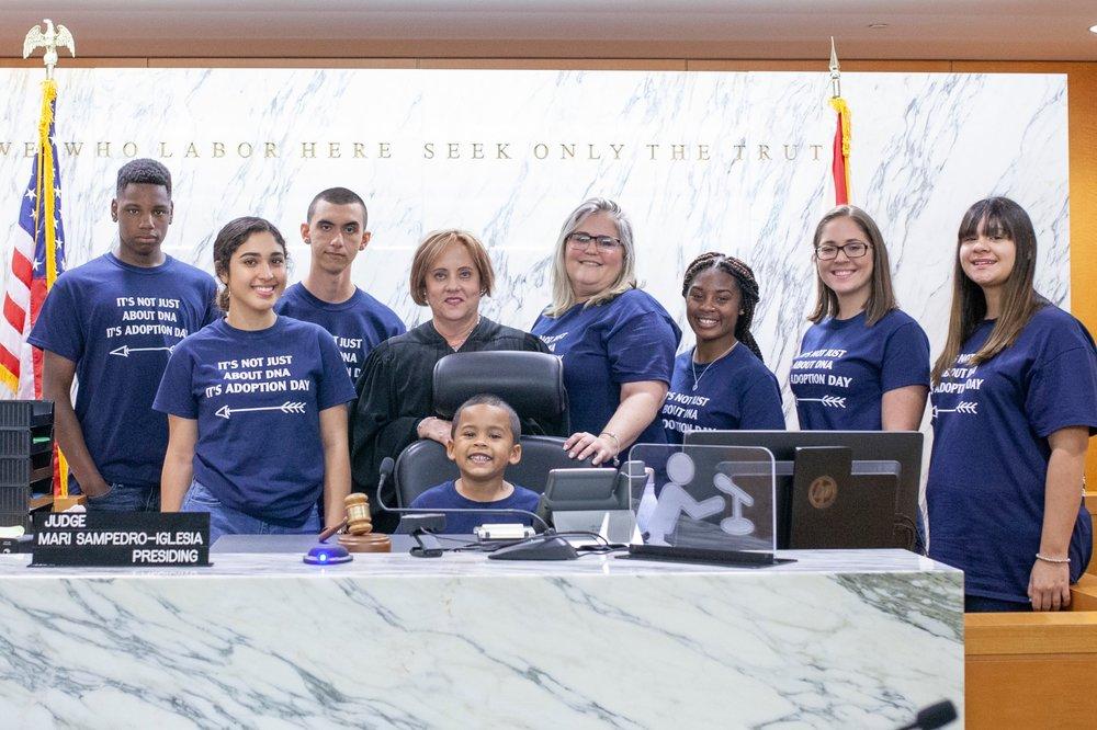 adoption-day-miami-childrens-courthouse-judge-maria-sampedro