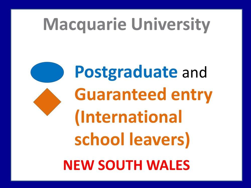 Macquarie University medicine
