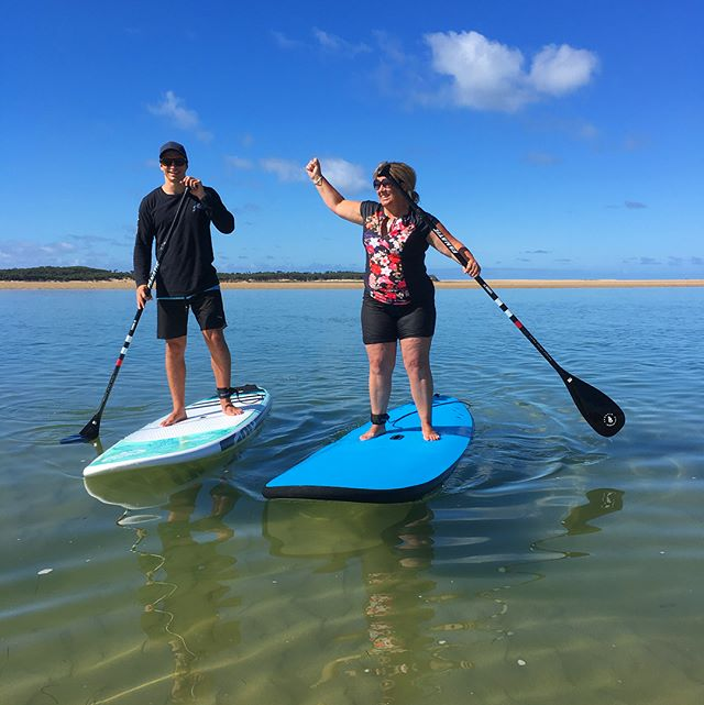 A big congratulations to Tanya, who accomplished her long-term goal of learning how to SUP yesterday!  Tanya was an absolute star, and we're looking forward to seeing her out on the water again soon! . . . . . . . . . . . . . . #inverlochsup #inverloch #gippslandtourism #victoriatourism #tourismvictoria #tourismaustralia #sup #standuppaddle #standuppaddleboard #surf #surfing