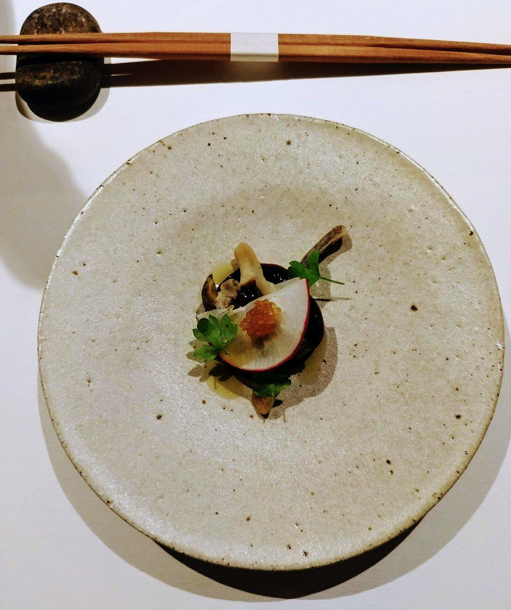 Shellfish from Japan