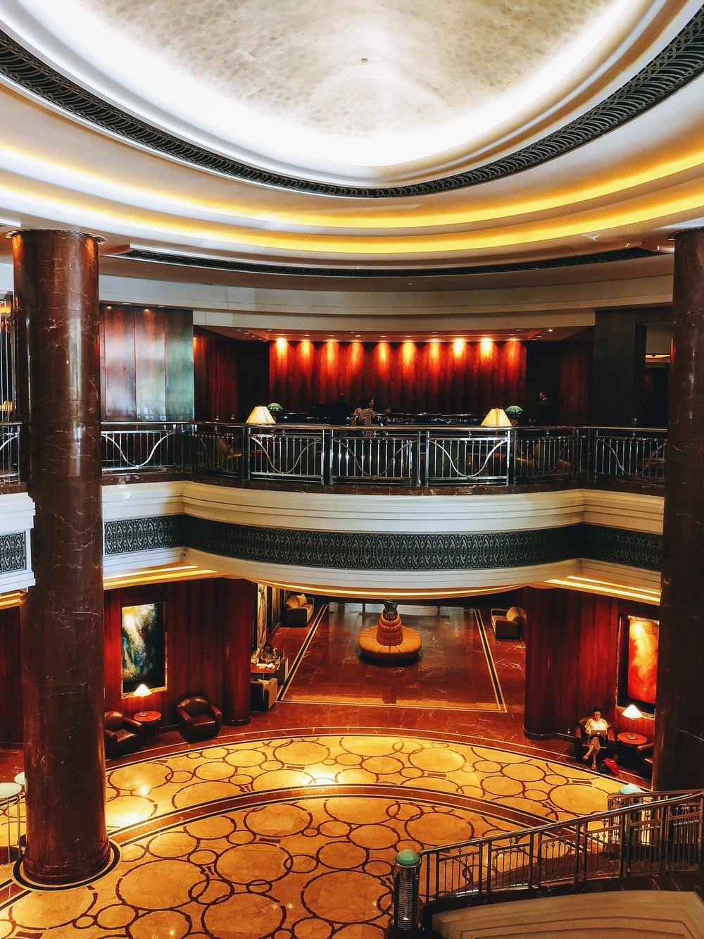 What a grand lobby!