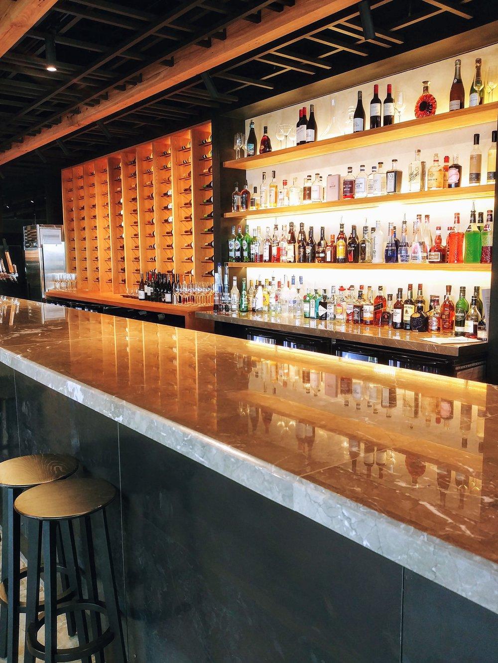 Love the bar design...so sage!