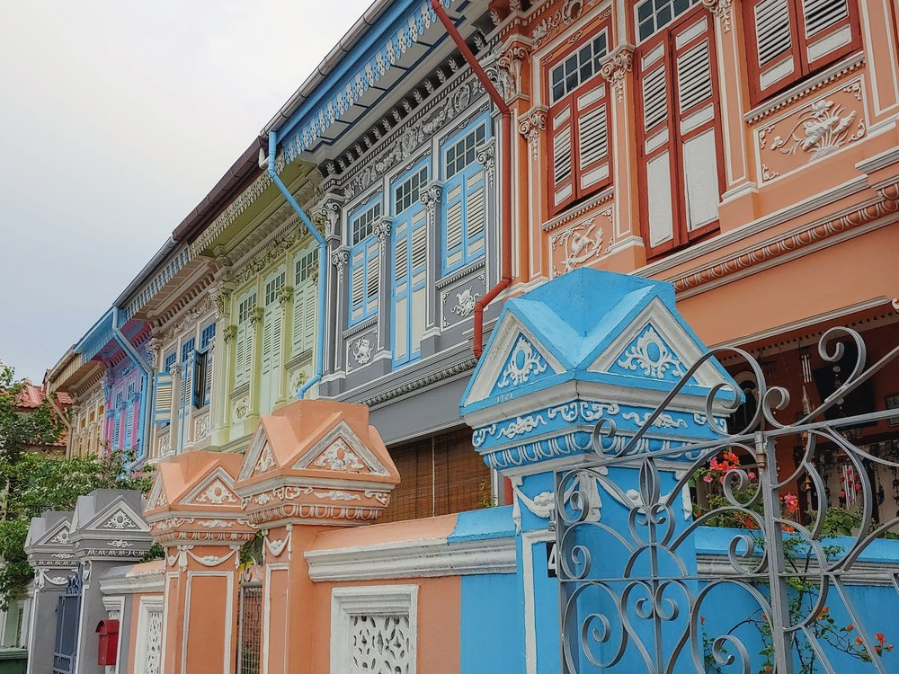 The Insta-worthy Joo Chiat Road - Conserved Peranakan shophouses that have been around since the early 1900s