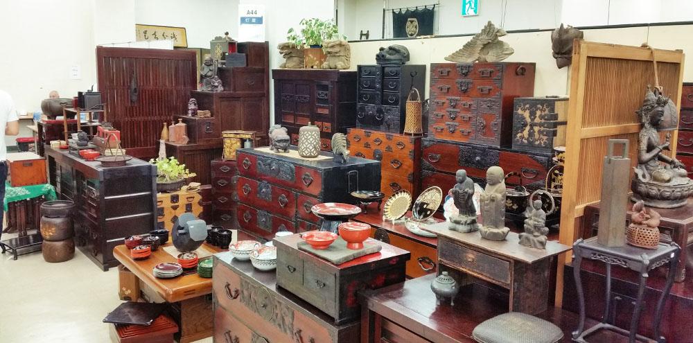 Heiwajima Antique fair