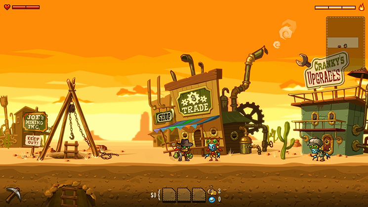 SteamWorld Dig Screen1.jpg