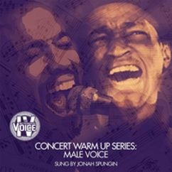 """From """" Concert Warm Up Series: Male Voice """" by  I  nstrumental Voice"""
