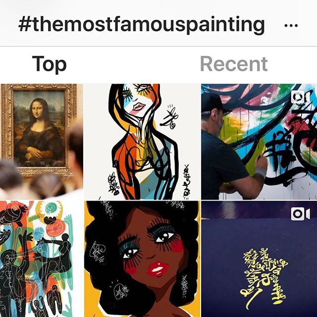 #themostfamouspainting @sabet