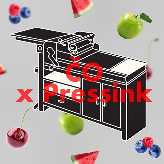 """Vypočujte si náš už tento utorok 6.11. o 15:10 hodine na @efemko v rubrike @cerstve_ovocie. Dozviete sa ako vznikol Pressink, prečo chceme oživiť umenie letterpressu, či aké máme plány.  Prezradíme viac o našom novom projekte """"Tlačiarensky stroj pre jediné letterpressové štúdio"""" ktorý môžete podporiť aj vy: link in bio  Ďakujeme a počujeme sa v utorok. 🖤🤗🖤"""