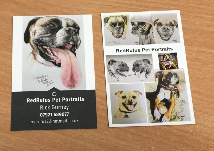My original business cards from january 2017 redrufus img0988g colourmoves