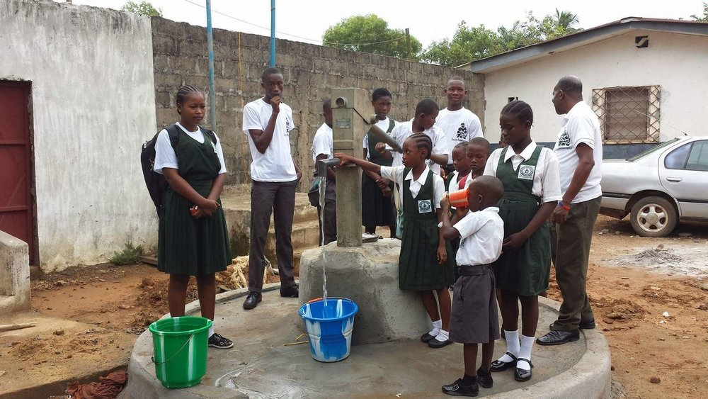 Since 1993, the Sean Devereux Children's Fund has raised over £1.25m for causes in Africa.  This example shows how our support provided for clean water in a Liberian village to facilitate children's school attendance  Thank you for all your continued support