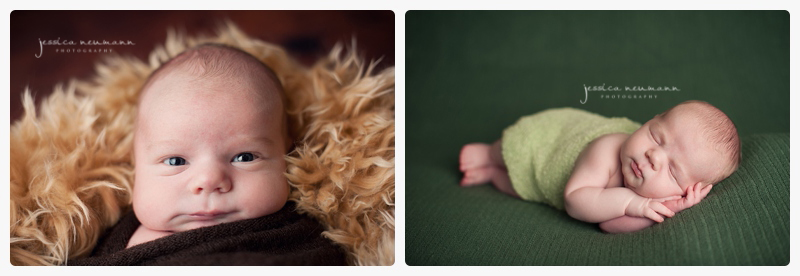 green newborn images