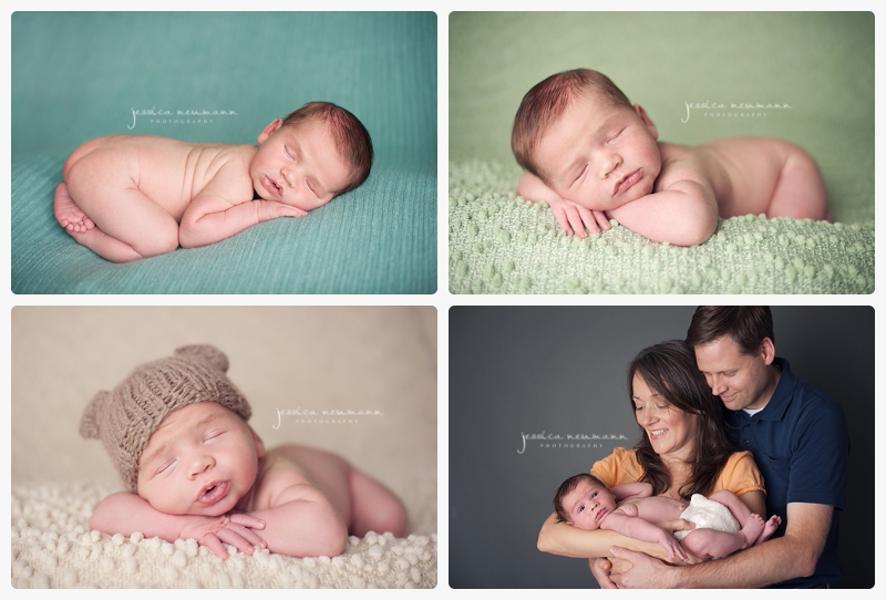 colorful newborn images
