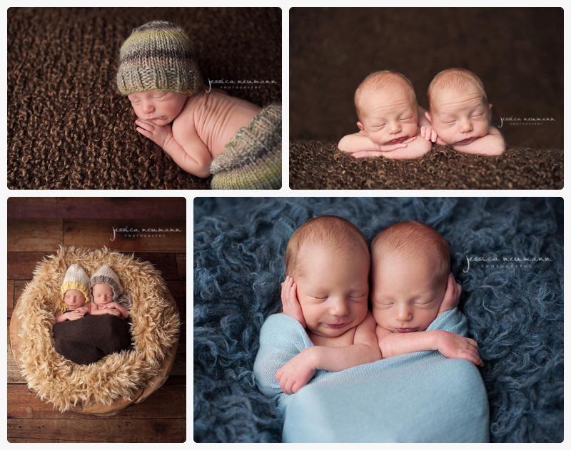 twin boys smile