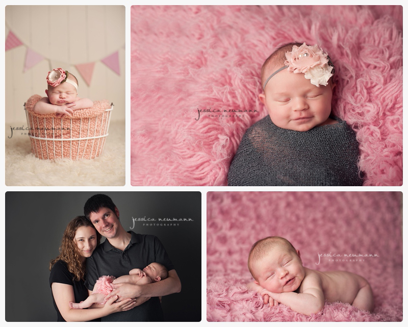 smiling newborns