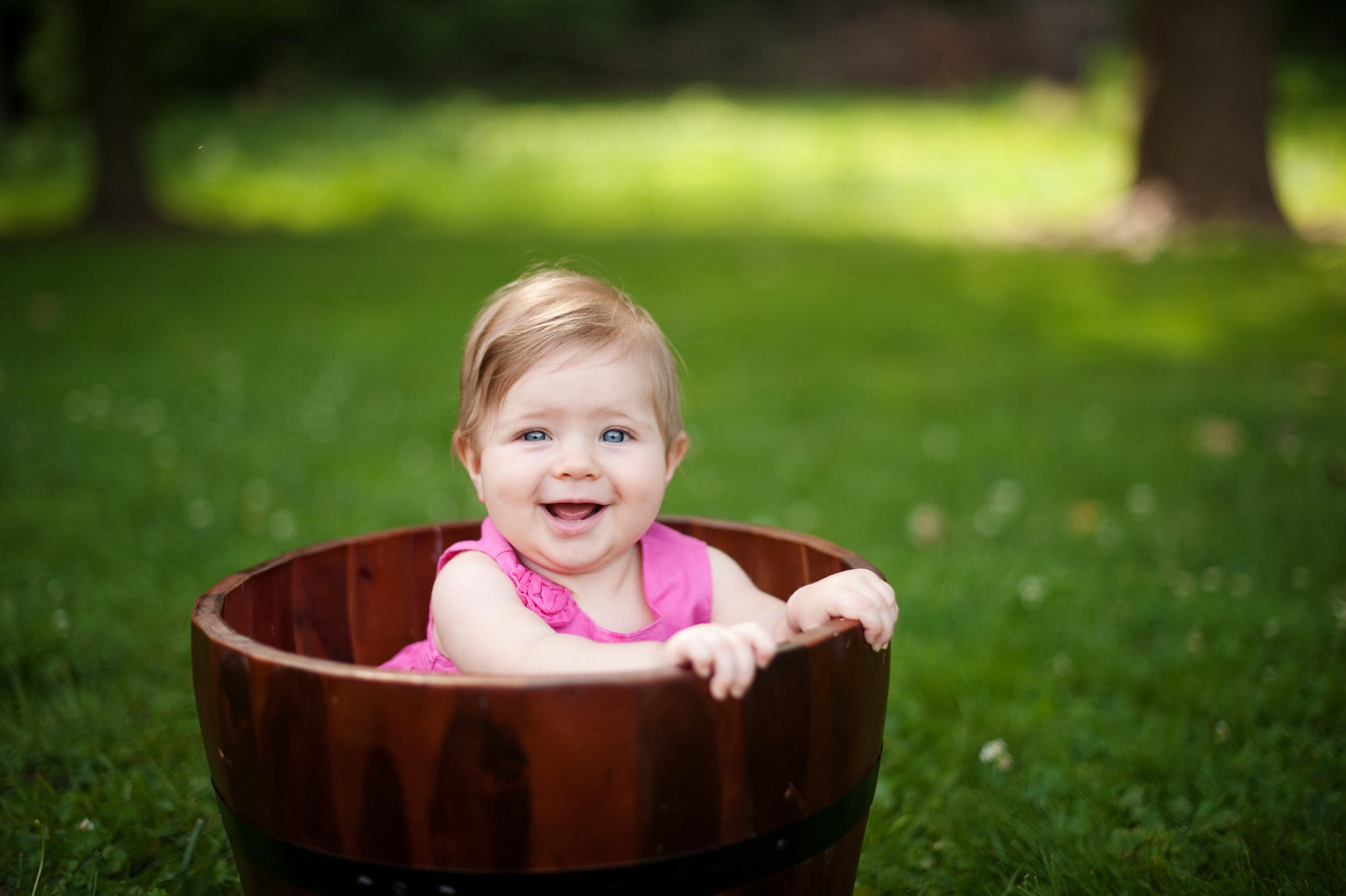 smile in bucket