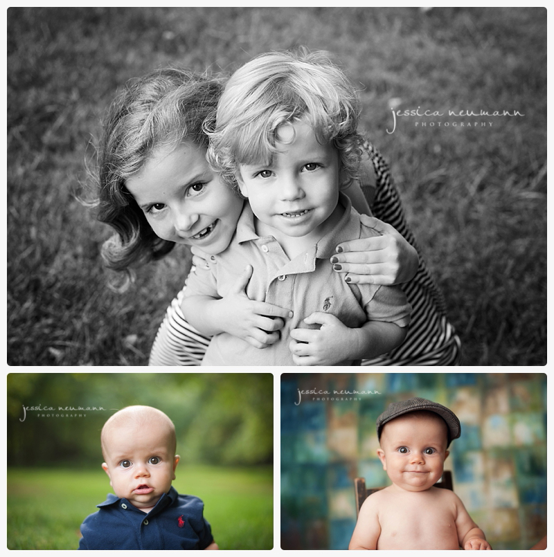 6 month old baby photography
