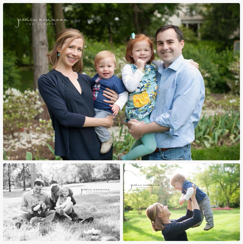 family images spring sherwood gardens