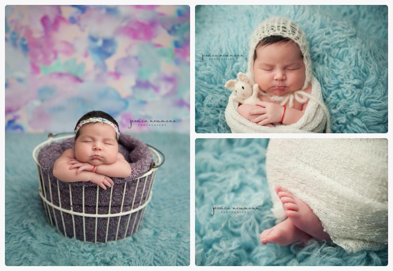 blue sweet newborn girl images