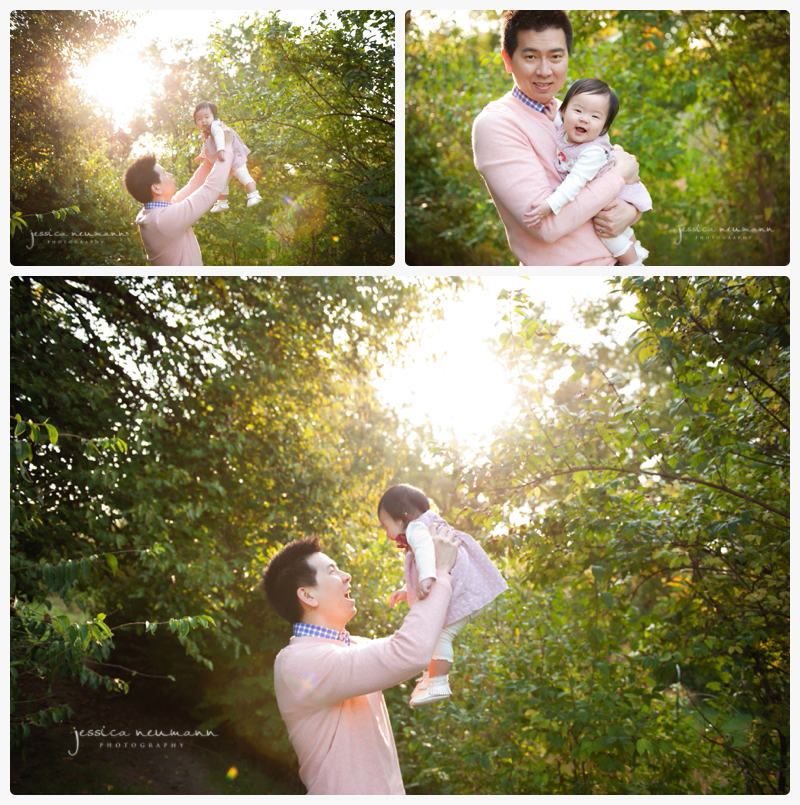 beautiful light daddy and 6 month old photos