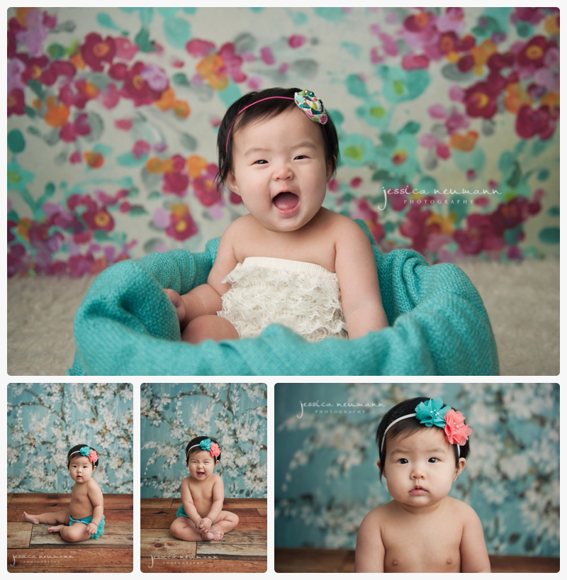 6 month old studio images