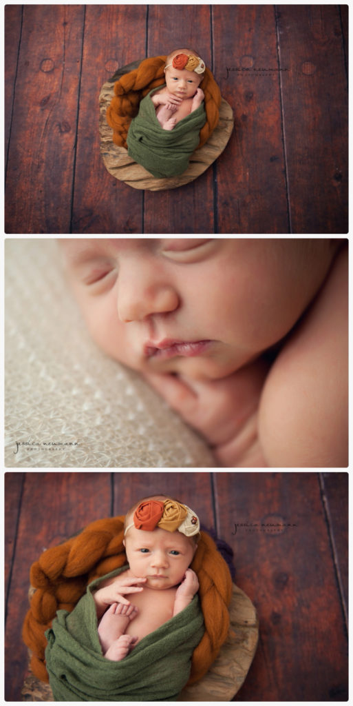fall newborn image