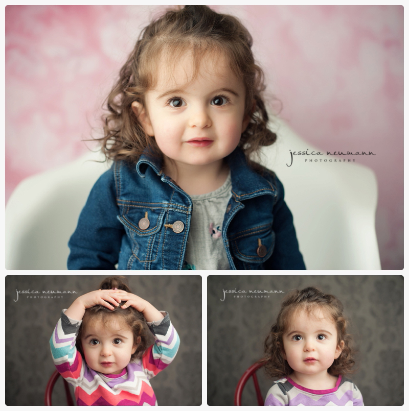 studio 2 year old session