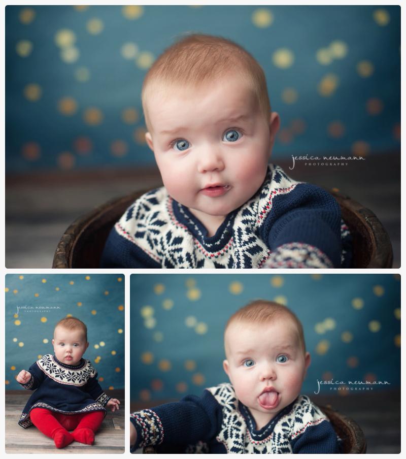 6 month photos big blue eyes