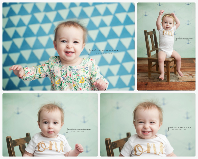 one year old cake smash photoshoot