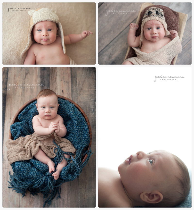 3 month old studio session