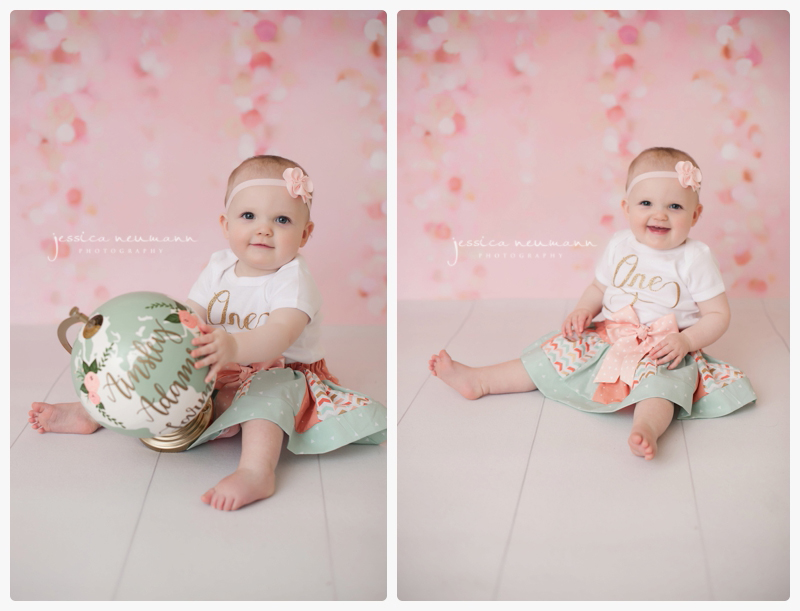 columbia md cake smash studio photographer