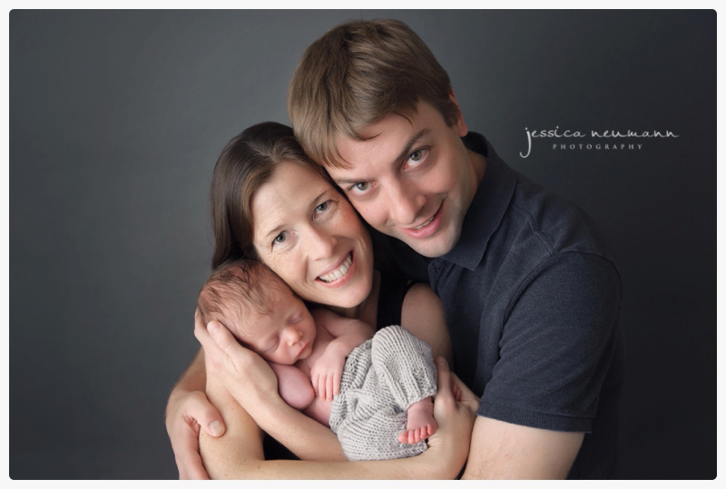 chevy chase newborn studio posed photography