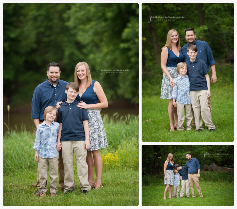frederick family of 4 photography