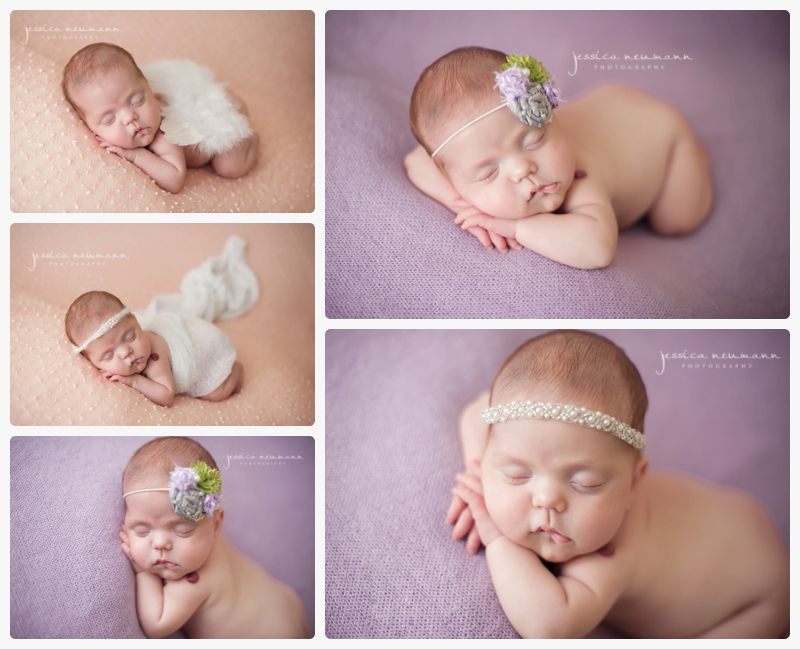 3 month old preemie newborn photoshoot