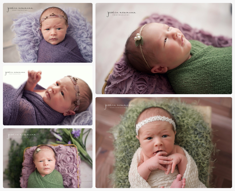 awake newborn photography