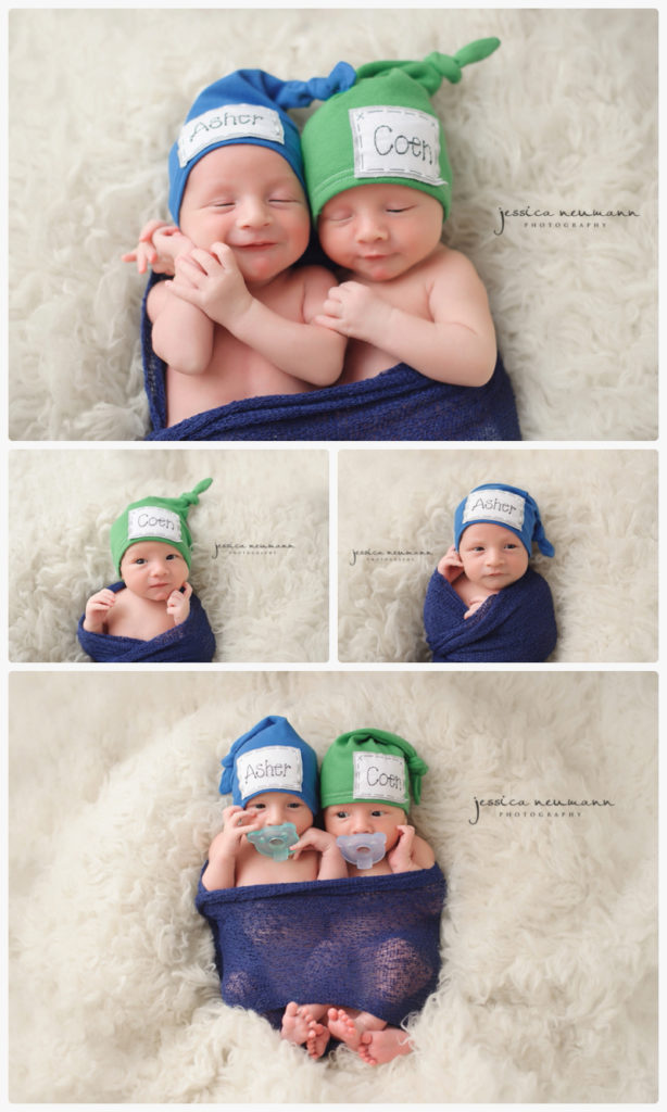 newborn twin brothers photography shoot