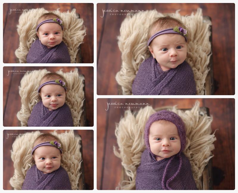 awake newborn photography