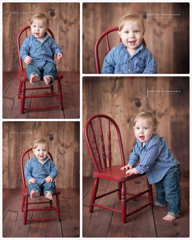 9 month old studio photoshoot