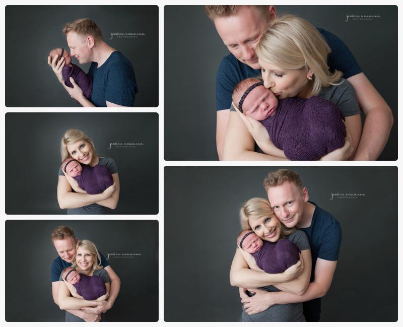 studio newborn and family photography