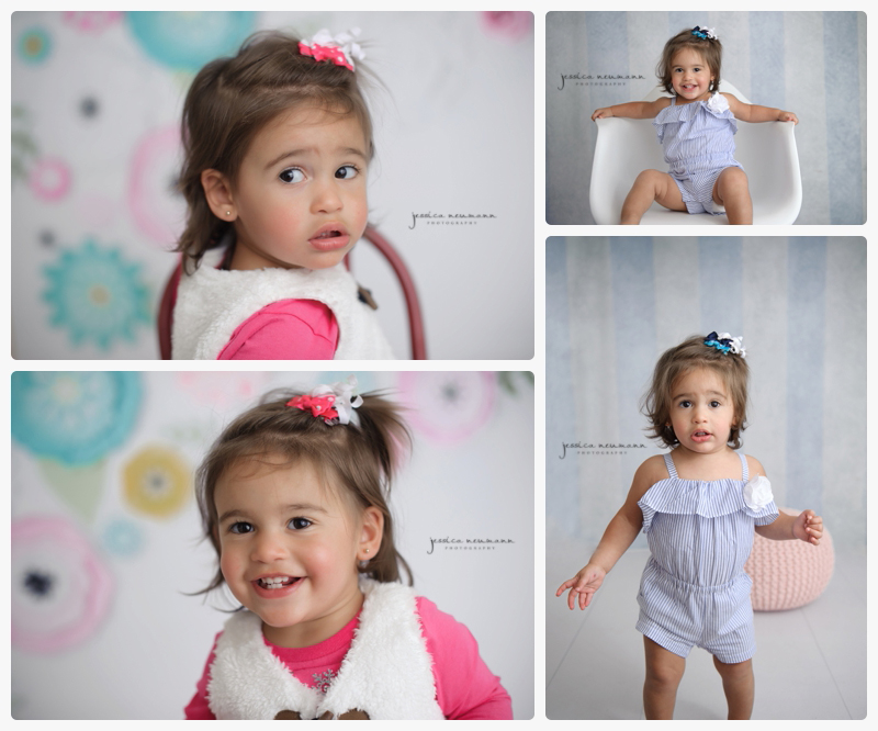 18 month old studio photography session