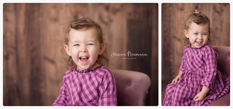studio images with 3 year old