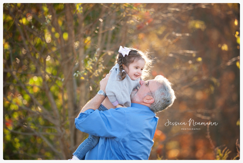 dad and daughter fall family pictures