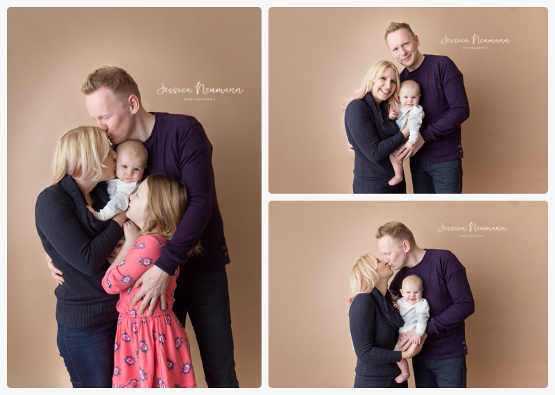 studio photography with family