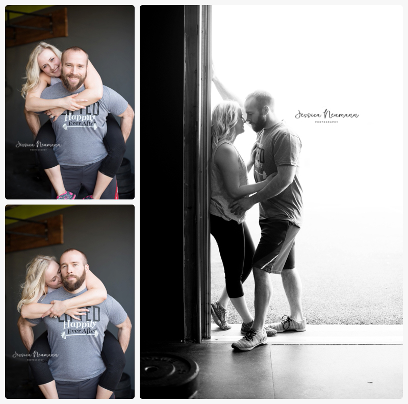 crossfit engagement photos