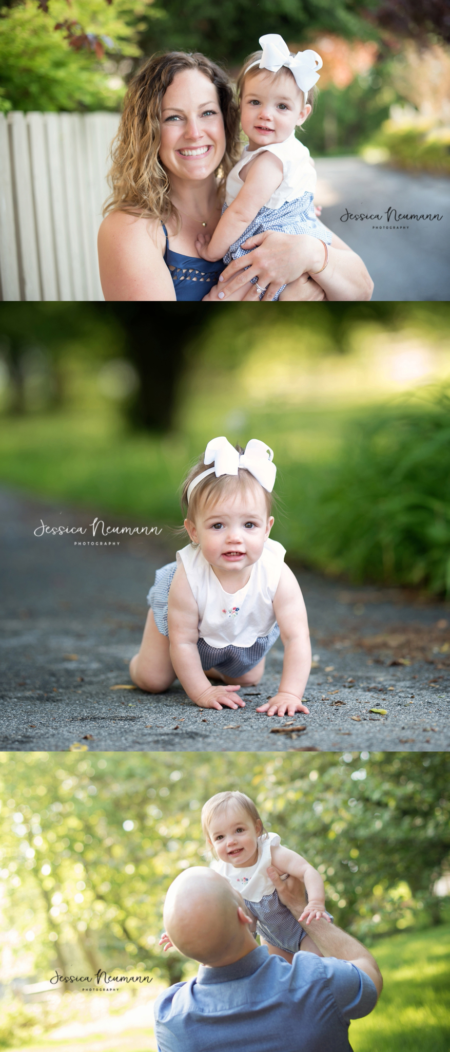 one year old outdoor family photoshoot