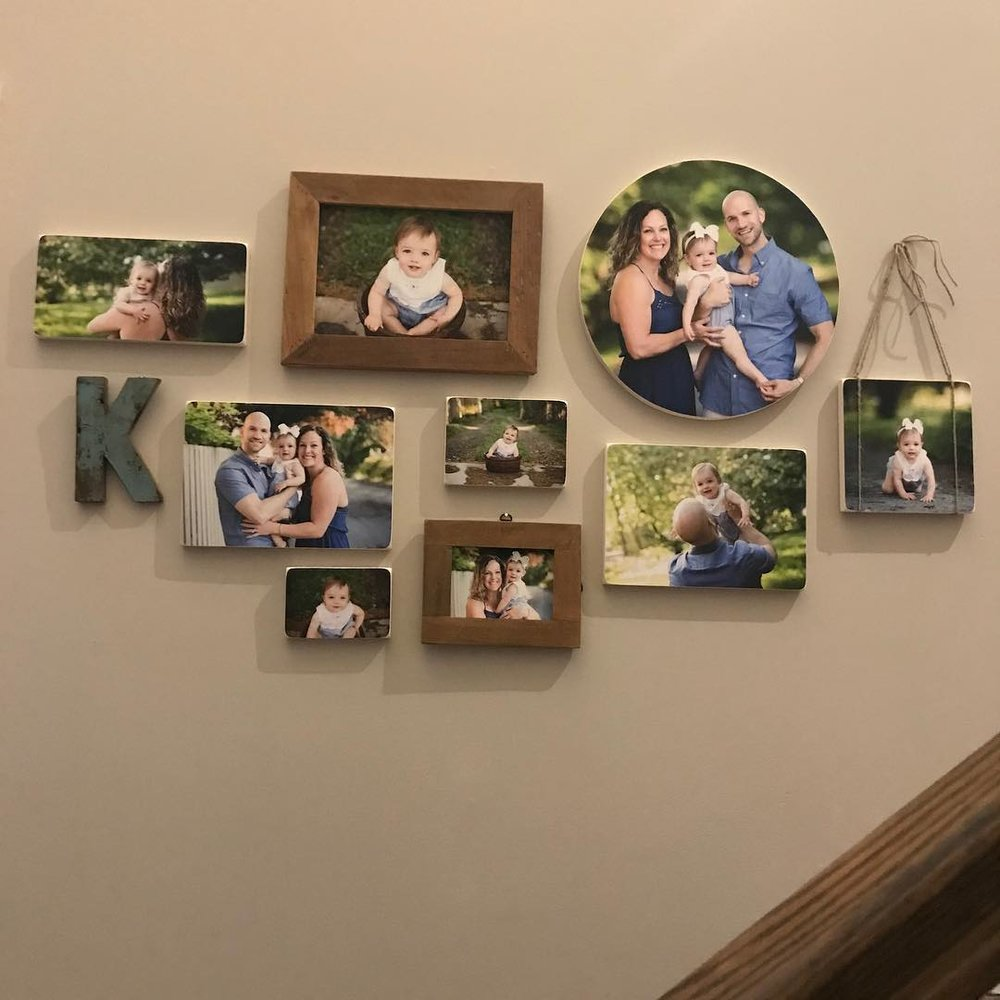 custom wall display example